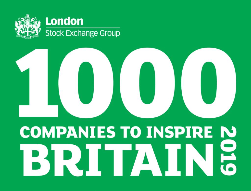 1000 companies to inspire Britain