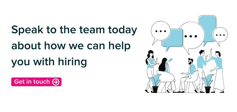 Speak to the team