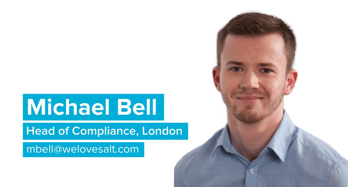 Michael Bell Head of Compliance