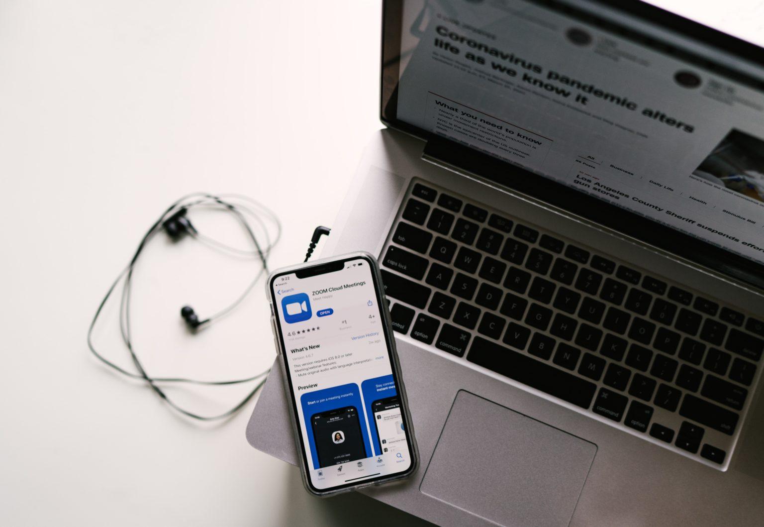 online meetings zoom meeting app on mobile